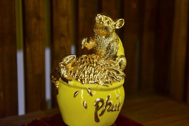 Mục sở thị chuột mạ vàng - Kỳ linh Canh Tý giá trăm triệu đồng - 5