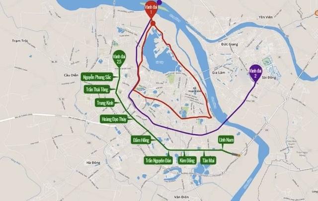 Đường vành đai 2.5 giải quyết vấn đề giao thông trọng điểm của thành phố - 1