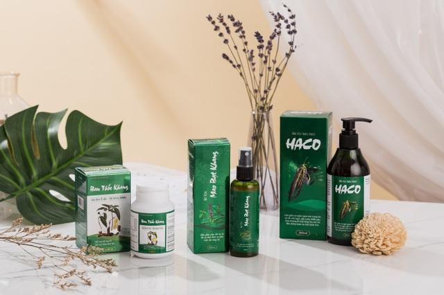 Nỗi lo về tóc sẽ không còn lo ngại với bộ 3 TPBVSK Tóc Haco - 5