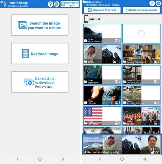 Ứng dụng hữu ích giúp tìm và khôi phục những file ảnh đã bị xóa trên smartphone - 1
