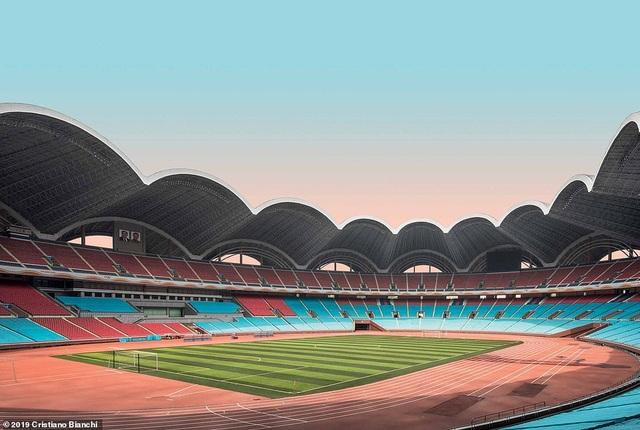 Kinh ngạc vẻ đẹp hoành tráng của các công trình kiến trúc ở Bình Nhưỡng - 3