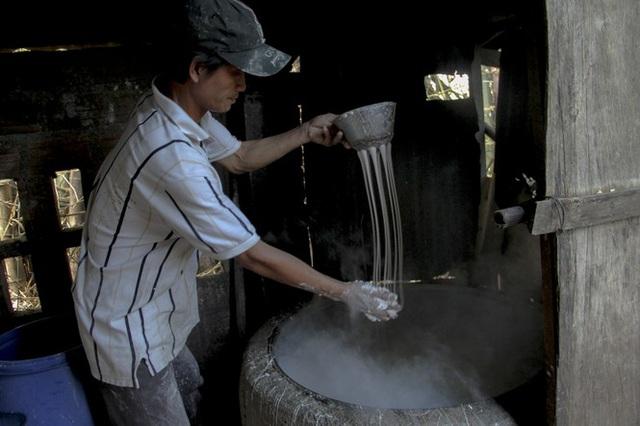 Làng bún - bánh An Thái hối hả vụ Tết - 5