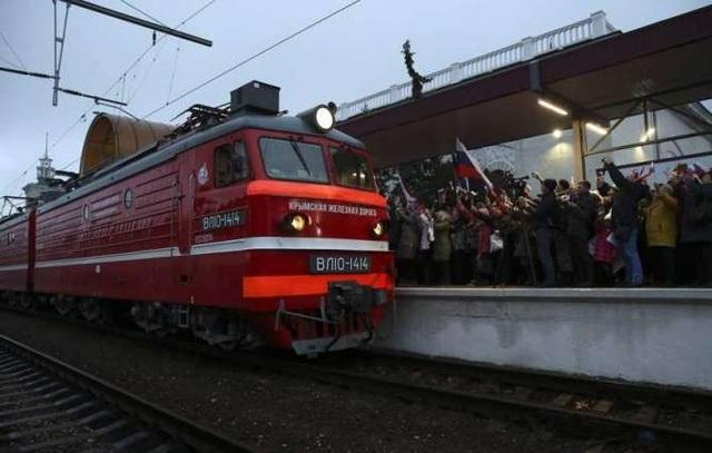 Nga khai trương tuyến đường sắt mới đến Crimea, Ukraine vào cuộc điều tra - 3