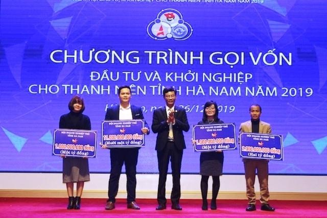 Trao 15 tỷ đồng vốn đầu tư khởi nghiệp cho 4 dự án của thanh niên Hà Nam - 1