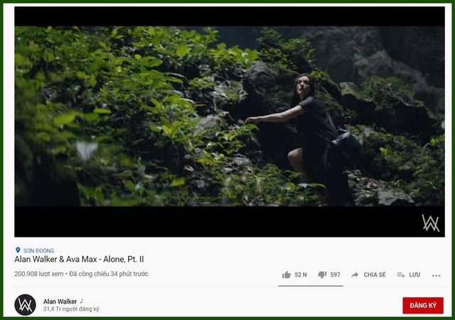 """Chiêm ngưỡng vẻ đẹp hang Sơn Đoòng trong MV của DJ """"tỷ view"""" - 1"""