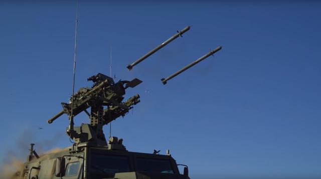 Video tên lửa phòng không Nga diệt gọn mục tiêu - 1