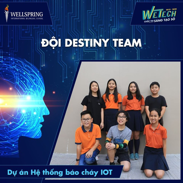 Ngạc nhiên với nhiều sản phẩm xuất sắc của học sinh tạicuộc thi Sáng tạo số - WeTech - 4