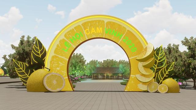 Sôi động lễ hội Cam Vinh - 1