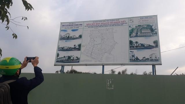 Quảng Ngãi: Lo ngại người dân bị lừa đảo khi mua đất nền  - 1