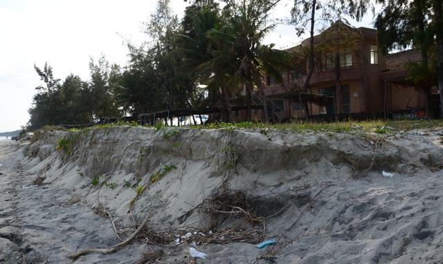 Sạt lở bất thường tại bãi biển đẹp nhất Quảng Ngãi - 3