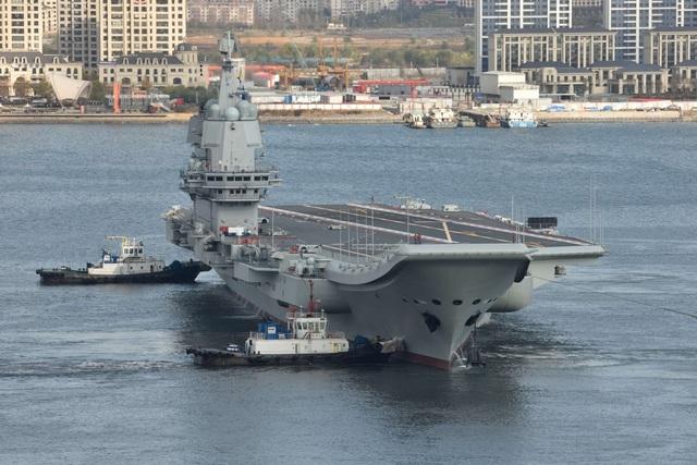 Trung Quốc đưa tàu sân bay qua eo biển Đài Loan, Mỹ cảnh báo cứng rắn - 1