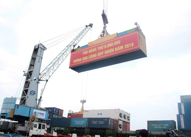 Cảng Quy Nhơn lập kỷ lục mới sau khi về sở hữu nhà nước - 1