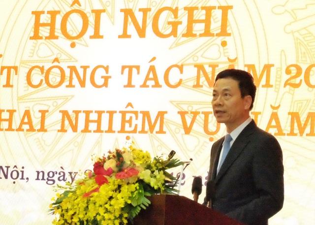 """Bộ trưởng Nguyễn Mạnh Hùng: """"2G đã hoàn thành sứ mệnh. Muốn đi nhanh thì phải bỏ gánh nặng của quá khứ"""" - 1"""