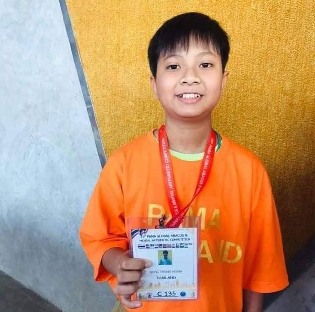 Cậu bé dân tộc Chăm đạt giải Nhì cuộc thi Toán trí tuệ Quốc tế - 5