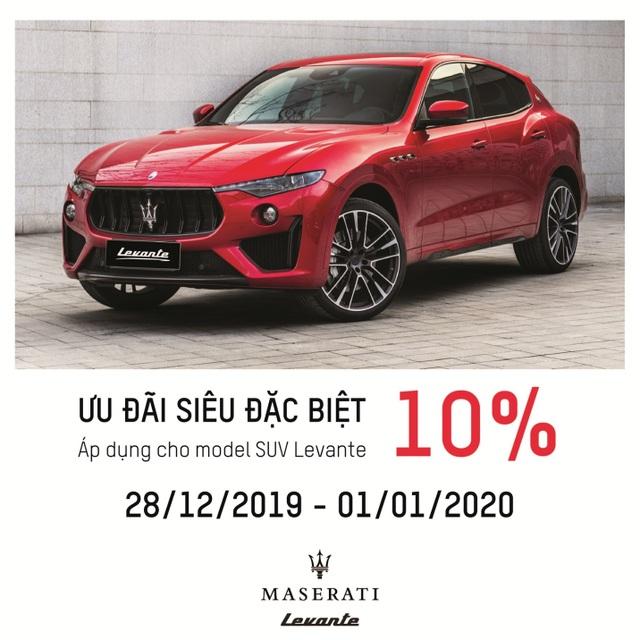Maserati Levante - Ưu đãi đặc biệt dành cho chủ nhân xứng tầm - 4