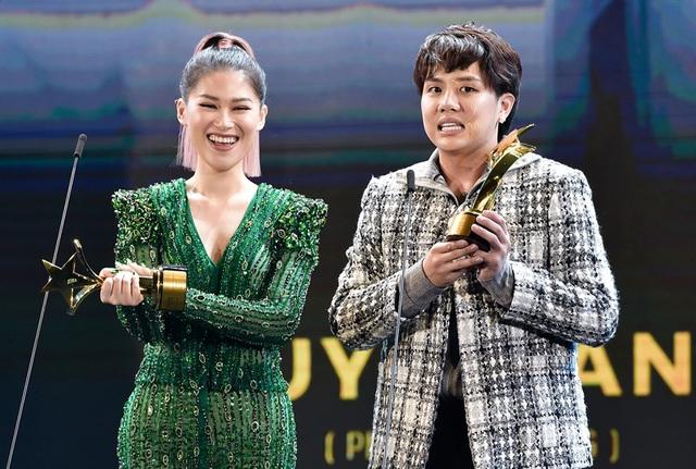Nữ cascaduer Trần Thanh Hoa đạt giải Nữ diễn viên phụ xuất sắc nhất Ngôi Sao Xanh - 13