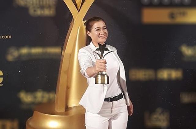 Nữ cascaduer Trần Thanh Hoa đạt giải Nữ diễn viên phụ xuất sắc nhất Ngôi Sao Xanh - 3
