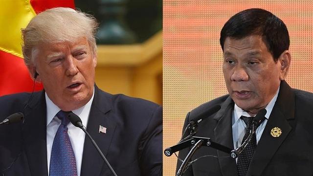 Tổng thống Philippines thẳng thừng từ chối thăm Mỹ - 1