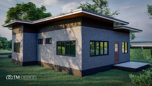 Mẫu nhà cấp 4 với 3 phòng ngủ, đẹp như biệt thự vườn dành cho gia đình Việt - 3