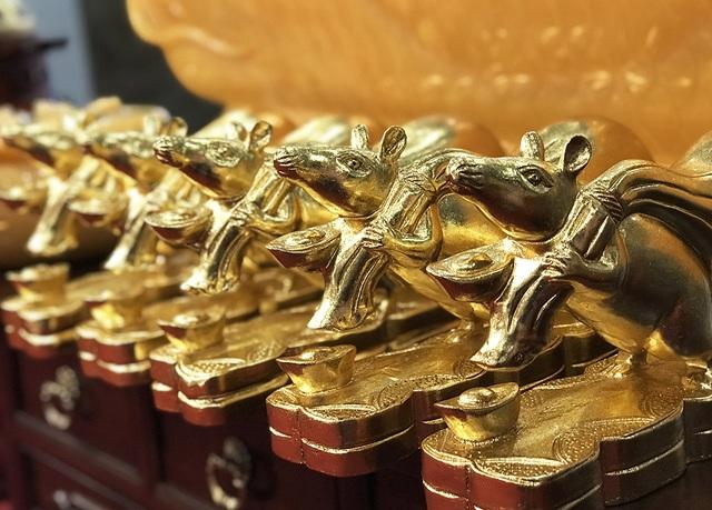 Chơi Tết sang, đại gia xuống tay 3 triệu rinh chuột vàng - 5