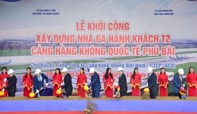 Khởi công nhà ga hành khách T2 sân bay Phú Bài - 2