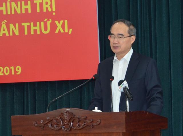 """Bí thư  Nguyễn Thiện Nhân: """"Giữ vai trò đầu tàu kinh tế, TPHCM phải nỗ lực rất nhiều"""" - 1"""