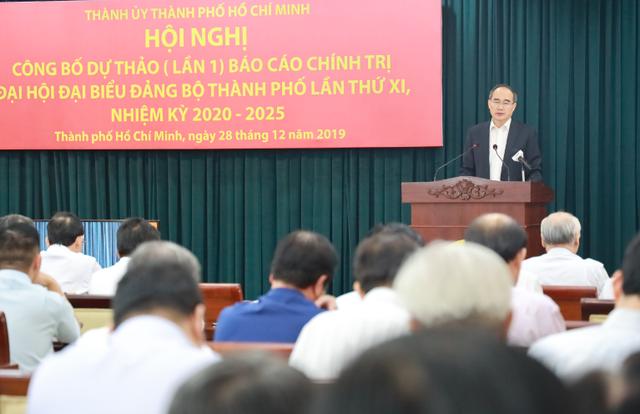 """Bí thư  Nguyễn Thiện Nhân: """"Giữ vai trò đầu tàu kinh tế, TPHCM phải nỗ lực rất nhiều"""" - 2"""