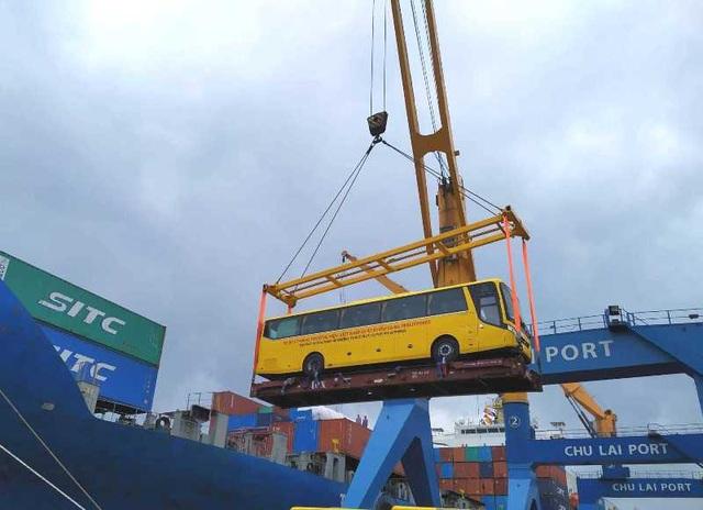 Thaco xuất khẩu ô tô thương hiệu Việt đầu tiên  sang Philippines - 1