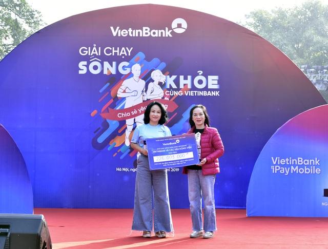"""Giải chạy """"Sống khỏe cùng VietinBank"""": Lan tỏa và sẻ chia yêu thương - 1"""