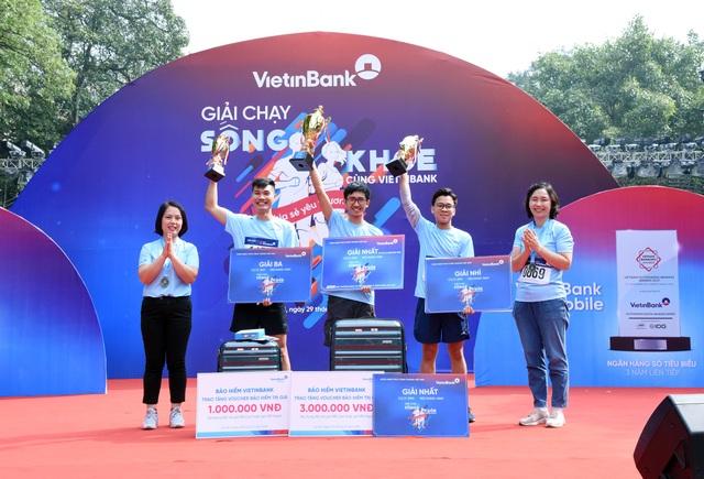 """Giải chạy """"Sống khỏe cùng VietinBank"""": Lan tỏa và sẻ chia yêu thương - 4"""