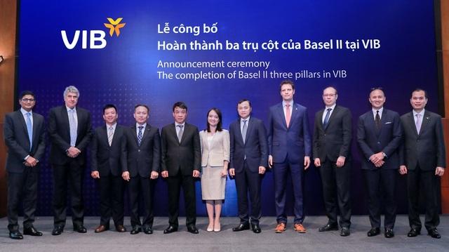 Lãnh đạo VIB: Basel II và Basel III là con đường tất yếu để làm cho ngân hàng an toàn hơn và chất lượng hơn - 1