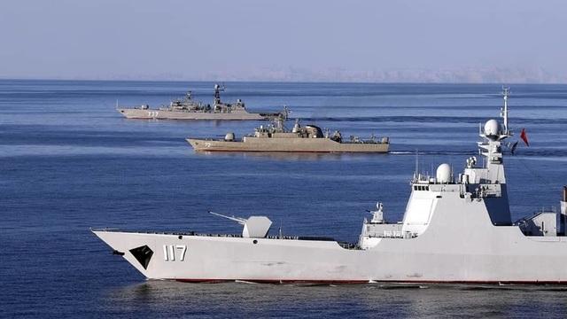 Iran dọa bắn máy bay do thám cuộc tập trận với Nga và Trung Quốc - 1
