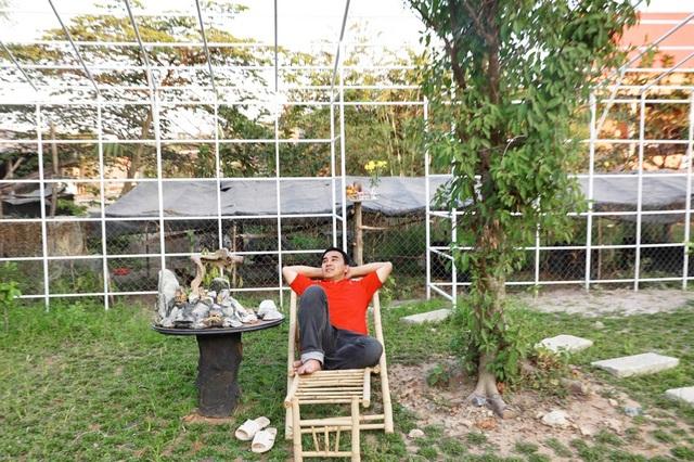 Quyền Linh đưa vợ con thăm nhà vườn hàng nghìn m2 của em trai Quyền Lộc - 6