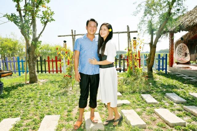 Quyền Linh đưa vợ con thăm nhà vườn hàng nghìn m2 của em trai Quyền Lộc - 9