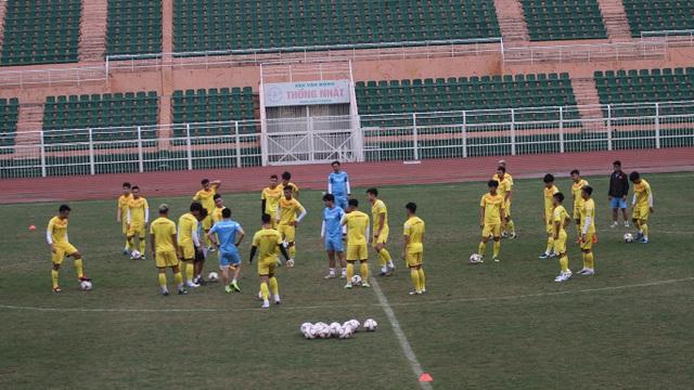 U23 Việt Nam luyện công chờ đấu thể lực với UAE, Jordan, Triều Tiên - 3