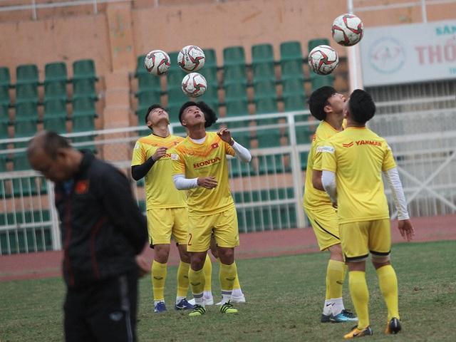 U23 Việt Nam luyện công chờ đấu thể lực với UAE, Jordan, Triều Tiên - 10