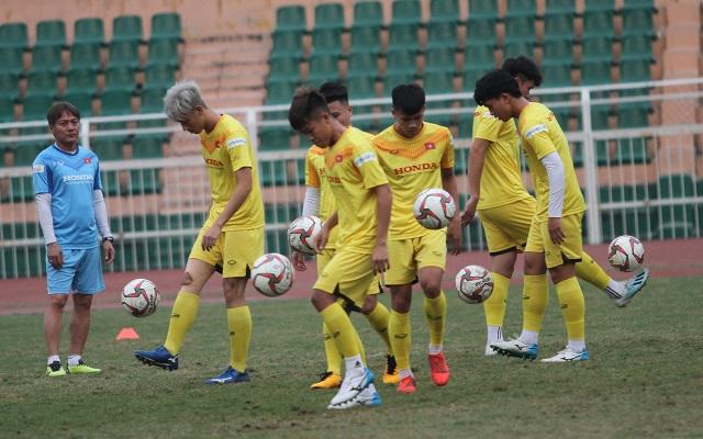 U23 Việt Nam luyện công chờ đấu thể lực với UAE, Jordan, Triều Tiên - 8