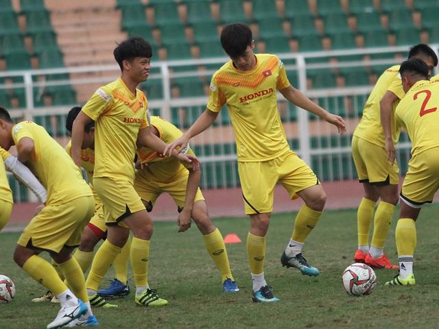 U23 Việt Nam luyện công chờ đấu thể lực với UAE, Jordan, Triều Tiên - 12