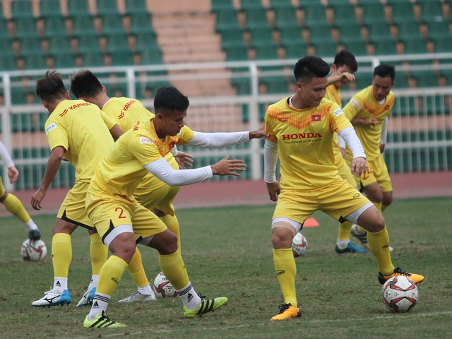 U23 Việt Nam luyện công chờ đấu thể lực với UAE, Jordan, Triều Tiên - 11