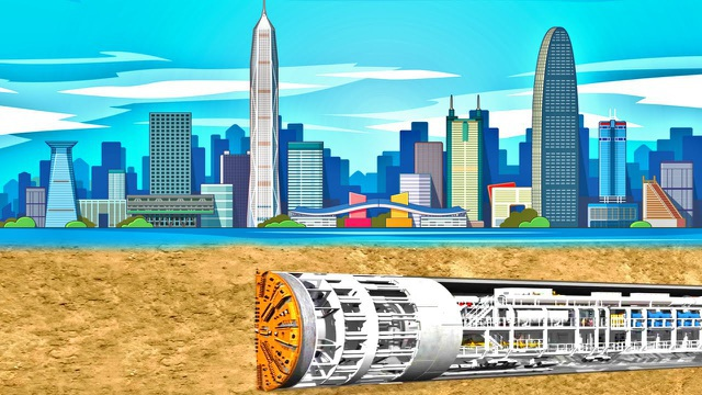 Chiêm ngưỡng hầm cao tốc dài hơn 10km nằm dưới lòng hồ ở Trung Quốc - 1
