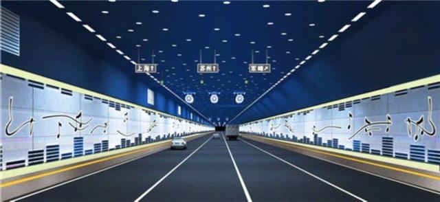 Chiêm ngưỡng hầm cao tốc dài hơn 10km nằm dưới lòng hồ ở Trung Quốc - 2