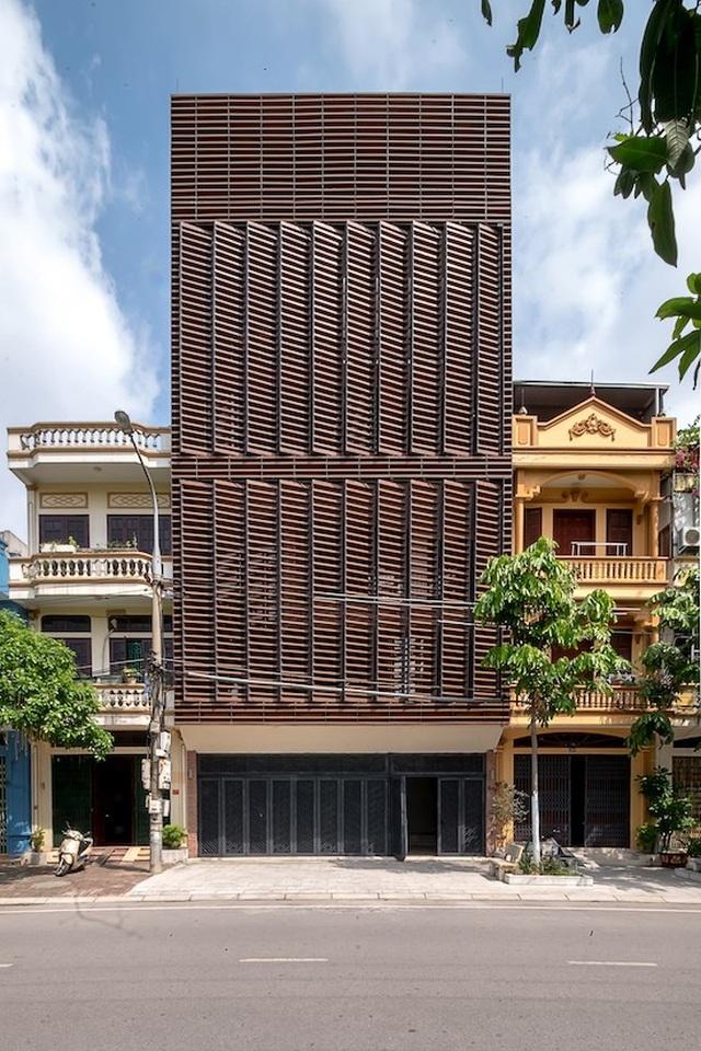 Độc đáo ngôi nhà 5 tầng biết thở ở Bắc Ninh - 2