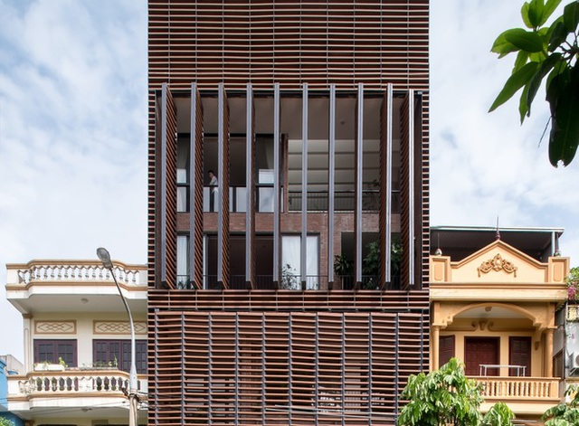 Độc đáo ngôi nhà 5 tầng biết thở ở Bắc Ninh - 5