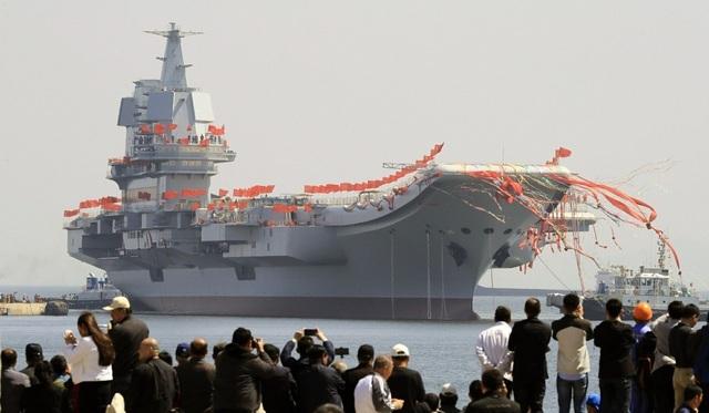 """Trung Quốc ồ ạt đóng tàu chiến hòng """"nuôi"""" tham vọng hải quân - 2"""
