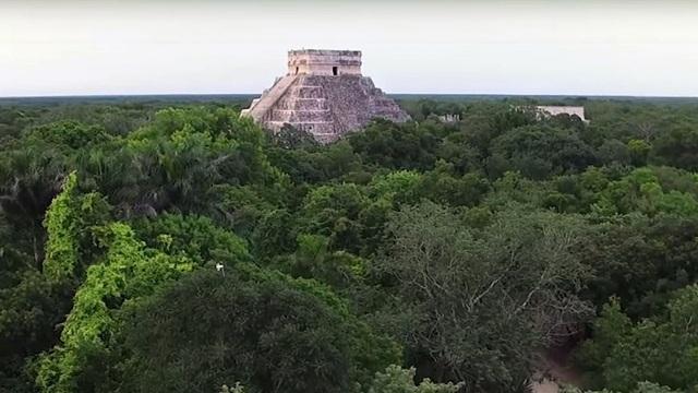 Phát hiện cung điện Maya rộng lớn ở Mexico - 1