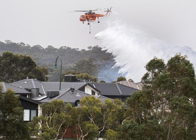 """Cháy rừng dữ dội, bầu trời Australia đỏ rực như """"ngày tận thế"""" - 4"""