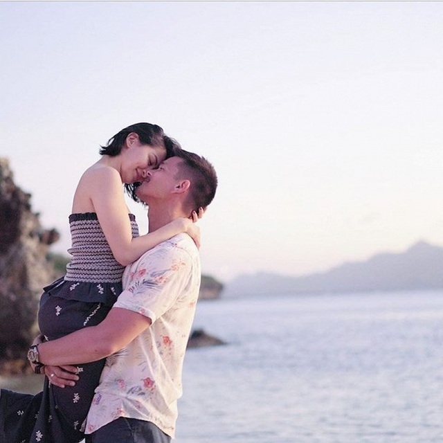 Vợ chồng mỹ nhân đẹp nhất Philippines hạnh phúc kỷ niệm ngày cưới - 7