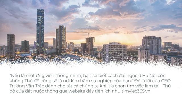 """Cùng CEO Trương Văn Trắc tìm """"ngọc quý"""" tại thị trường việc làm Hà Nội - 4"""