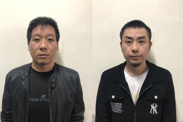 Giữ người trái phép, 2 đối tượng người Trung Quốc bị bắt - 1