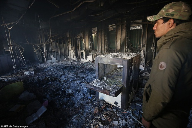 Đại sứ quán Mỹ ở Iraq tan hoang sau vụ tấn công của người biểu tình - 3